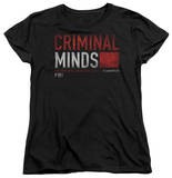 Womens: Criminal Minds - Title Card T-shirts