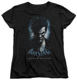 Womens: Batman Arkham Origins - Joker T-Shirt