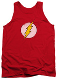 Tank Top: The Flash - Rough Flash Logo Tank Top
