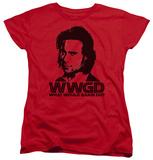 Womens: Battlestar Galactica - WWGD T-Shirt