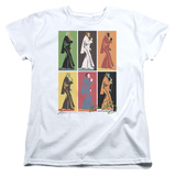 Womens: Elvis Presley - Retro Boxes T-shirts