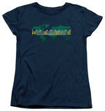 Womens: Amazing Race - Around The World T-shirts