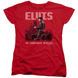 Womens: Elvis Presley - Return Of The King T-Shirt