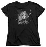 Womens: Bewitched - Vintage Witch T-Shirt