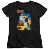 Womens: Back To The Future - Poster T-shirts