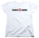Womens: Chuck - Nerd Herd T-shirts