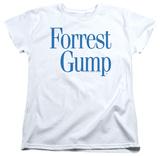 Womens: Forrest Gump - Logo Shirt