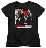 Womens: Criminal Minds - Guns Drawn T-shirts