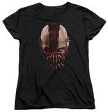Womens: Dark Knight Rises - Bane Mask T-Shirt