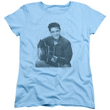 Womens: Elvis Presley - Repeat Shirt