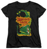 Womens: Dragon's Lair - DL Side Art T-shirts