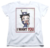 Womens: Betty Boop - Auntie Boop T-shirts