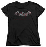 Womens: Batman Arkham City - Bat Fill T-shirts