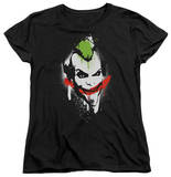 Womens: Batman Arkham City - Spraypaint Smile T-Shirt