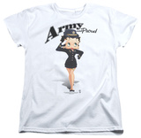 Womens: Betty Boop - Army Boop T-Shirt