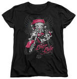 Womens: Betty Boop - Biker Babe Shirts