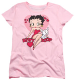 Womens: Betty Boop - Sweetheart T-Shirt