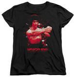 Womens: Bruce Lee - The Shattering Fist T-shirts