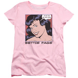 Womens: Bettie Page - Girl Next Door T-shirts