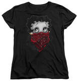 Womens: Betty Boop - Bandana & Roses T-shirts