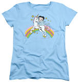 Womens: Betty Boop - Unicorn & Rainbows T-shirts
