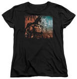 Womens: Batman Arkham City - City Knockout T-shirts