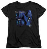 Womens: Farscape - Blue And Bald T-shirts