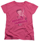 Womens: Betty Boop - Kissable Huggable T-Shirt