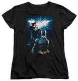 Womens: Dark Knight Rises - Bat & Cat T-shirts