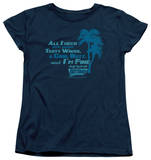 Womens: Fast Times at Ridgemont High - All I Need T-shirts