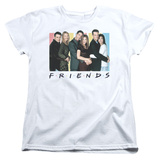 Womens: Friends - Cast Logo Shirt