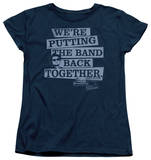 Womens: Blues Brothers - Band Back T-shirts