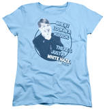 Womens: 30 Rock - White Haze T-Shirt