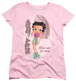 Womens: Betty Boop - Rain Rain Go Away T-Shirt