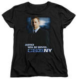 Womens: CSI Ny - Justice Served T-Shirt