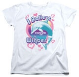 Womens: Dolphin Tale - I Believe Shirts