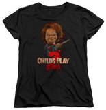 Womens: Childs Play 2 - Heres Chucky Shirt