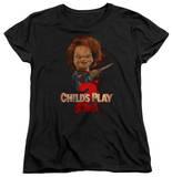 Womens: Childs Play 2 - Heres Chucky Shirt