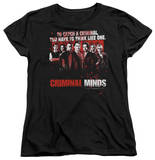 Womens: Criminal Minds - Think Like One T-shirts