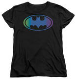 Womens: Batman - Gradient Bat Logo T-Shirt