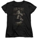 Womens: Elvis Presley - 1954 T-Shirt