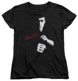 Womens: Bruce Lee - The Dragon Awaits T-shirts