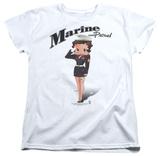 Womens: Betty Boop - Marine Boop T-shirts