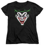 Womens: Batman The Brave and the Bold - Animated Joker Head T-shirts