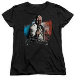 Womens: Batman Arkham City - Two Face T-shirts