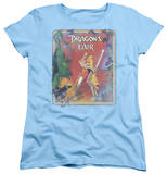 Womens: Dragon's Lair - Distressed Poster T-Shirt