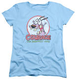 Womens: Courage The Cowardly Dog - Vintage Courage T-shirts