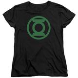 Womens: Green Lantern - Green Emblem T-shirts