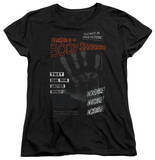Womens: Invasion Of The Body Snatcher - Run Poster Shirts