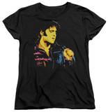 Womens: Elvis Presley - Neon Elvis T-shirts